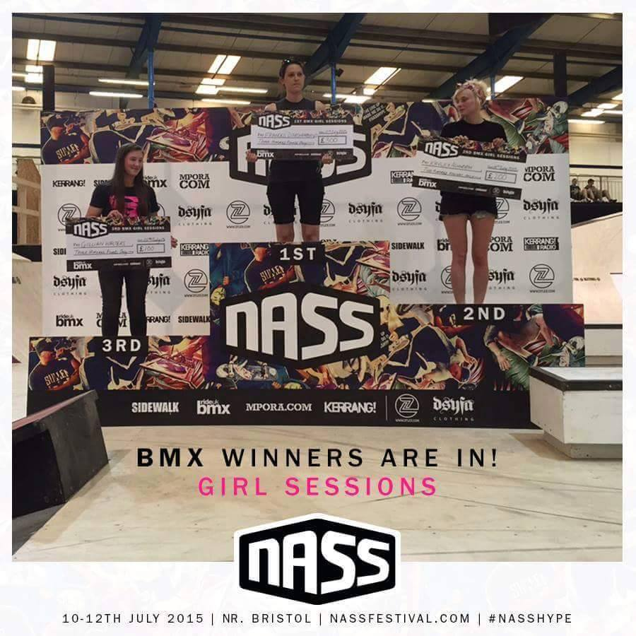 Gillian Walker, 3rd place, NASS